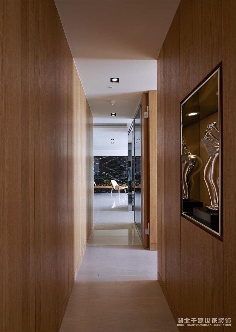 198平大户型装修案例丨中式混搭现代,让居住与招待都能不迟不疾