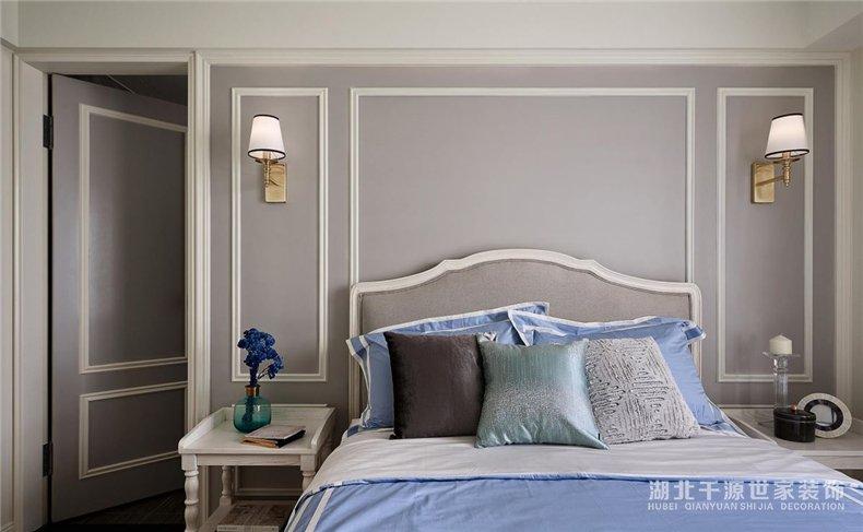 一室一厅一厨一卫装修案例丨美式也可以很清新,再现贵族少闺房