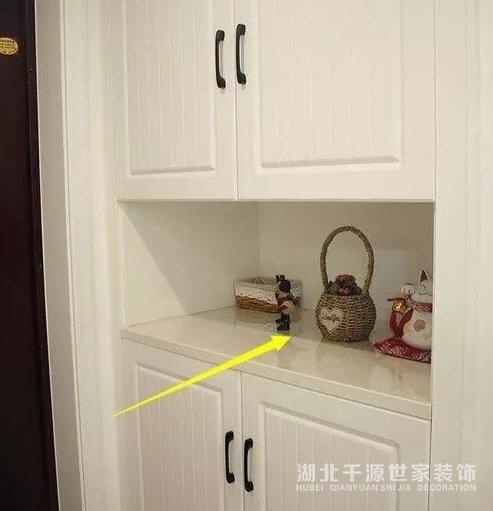 【宜昌装修新闻】了解福州新房装修中玄关鞋柜定制的几个细节