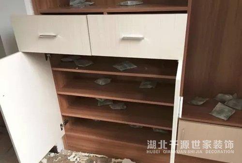 【宜昌装修】新房子在装修前鞋柜的设计要用心