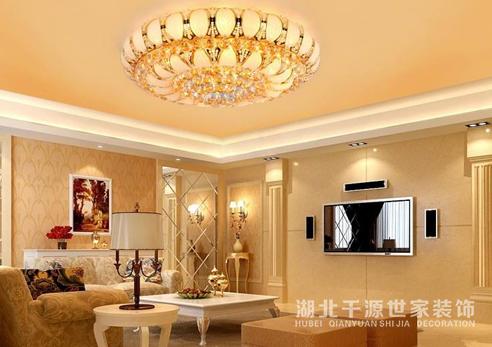 【宜昌装修】客厅陈列怎样的灯具比较漂亮