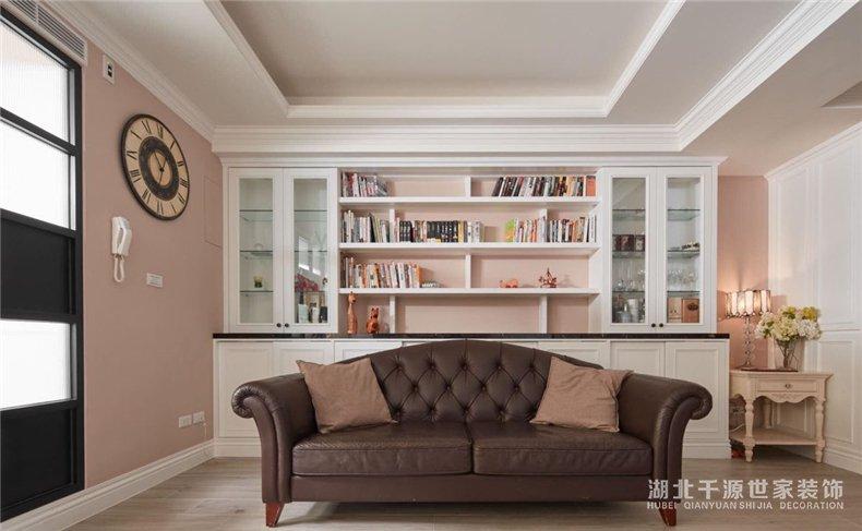 美式风格丨旧房变新家,六口人同住4室2厅美式风【宜昌装修】