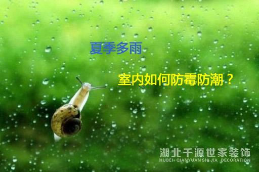 【上海装修】夏天要如何做好家具防潮?
